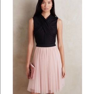Anthropologie HD in Paris Darla Tulle dress blush